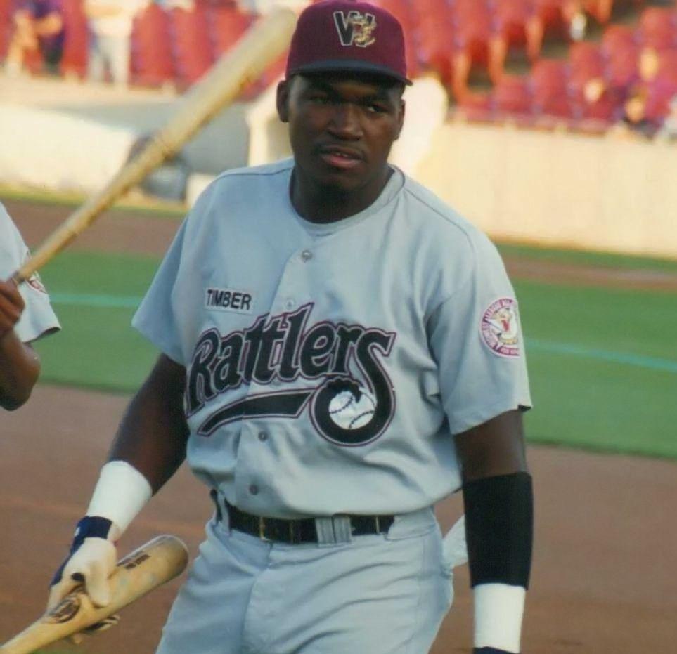 David Ortiz 1996 Wisconsin Timber Rattlers Minor League Baseball Mens Tops Mens Tshirts