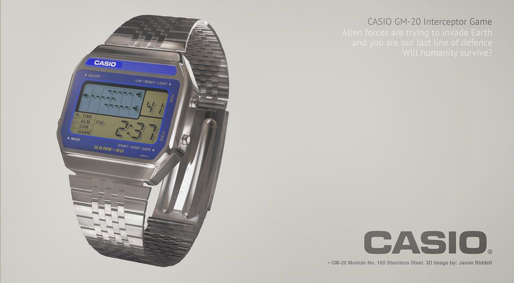 montre casio original 1980