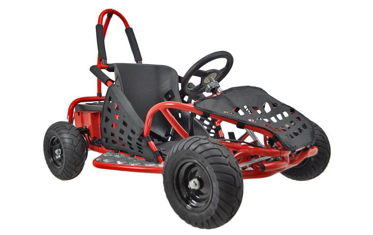 Kids love playing gokart and this mini 1000 Watt Electric 3-Speed Go ...