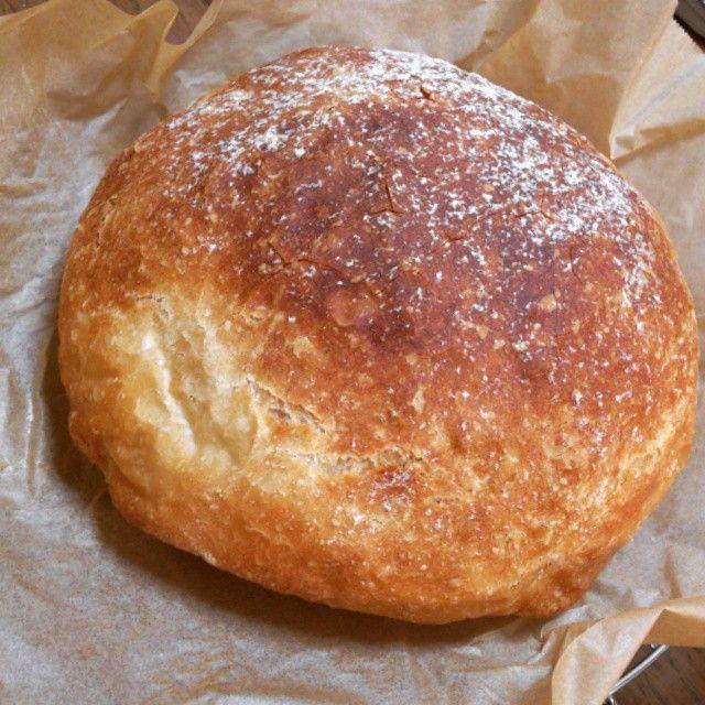 栗原はるみさんの こねないパン カフェフード 簡単パンレシピ