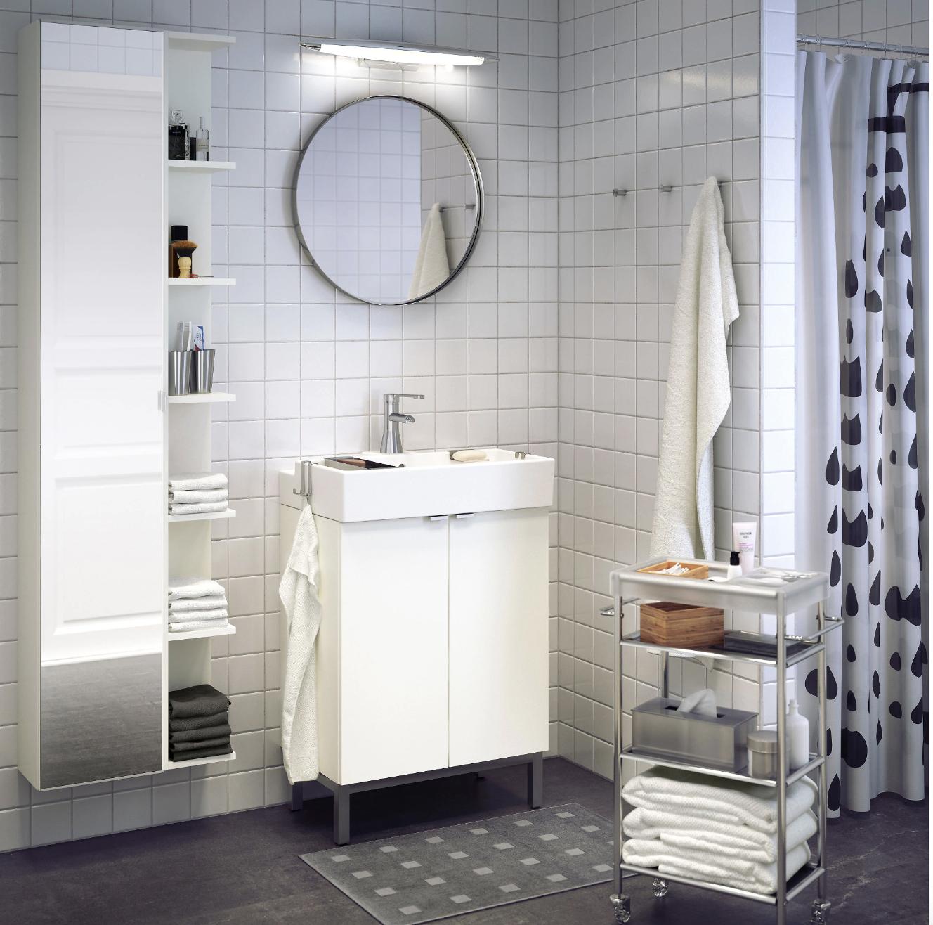 Así ganas espacio en un baño pequeño👌 | Muebles de cocina ...