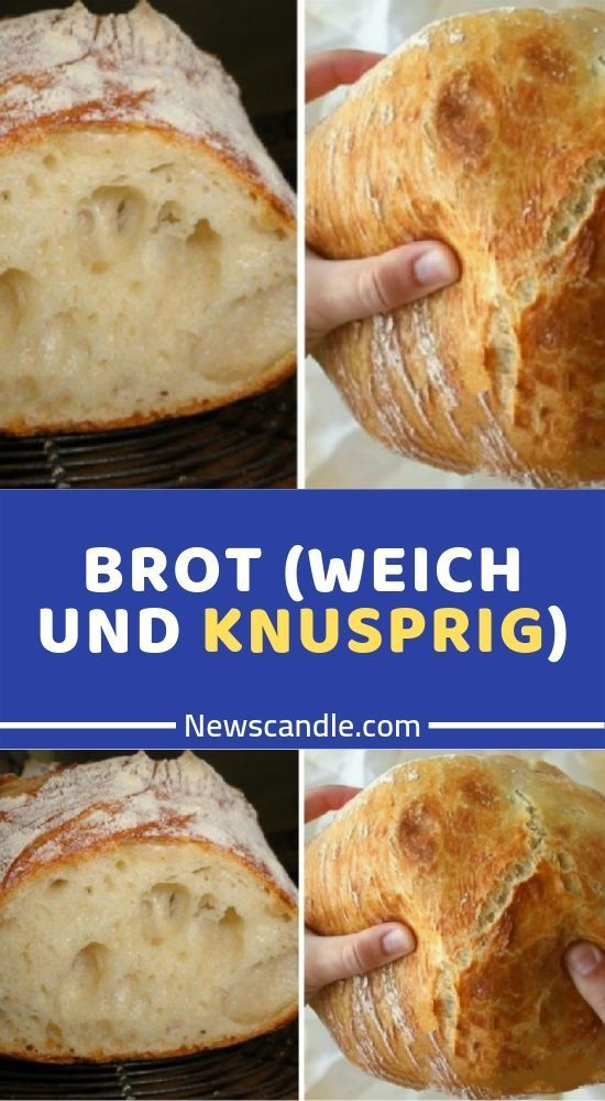 Photo of BREAD (SOFT AND CRISPY)-BROT (WEICH UND KNUSPRIG)  Ingredien…