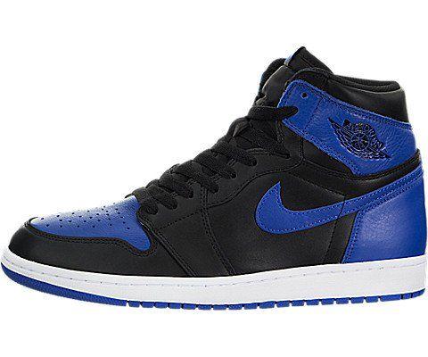 timeless design 17140 fcb5e Nike Men's Air Jordan 1 Mid Black/Gym Red/White Basketball Shoe - 9 D(M) US