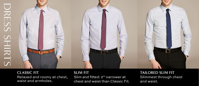 Three Styles Of Dress Shirts And How They Are Different
