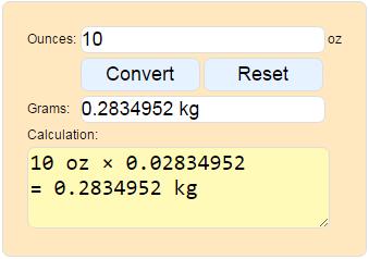 Convert Ounces To Kilograms Weight Converter Ounces To Kilograms Calculator Ounces To Kilograms Convert Ounces To Kilograms Pounds And Ounces To