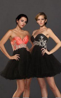 Vestidos para fiestas informales 2013