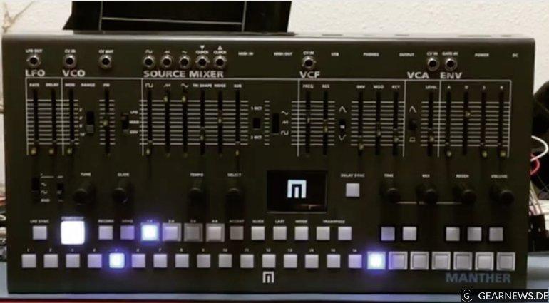 Manther ist ein Synthesizer mit Sequencer von Malekko. Er wurde ursprünglich mit zwei weiteren Grooveboxen (Drummachine und einem weiteren Synthesizer) auf der NAMM 2016 als Prototyp gezeigt.