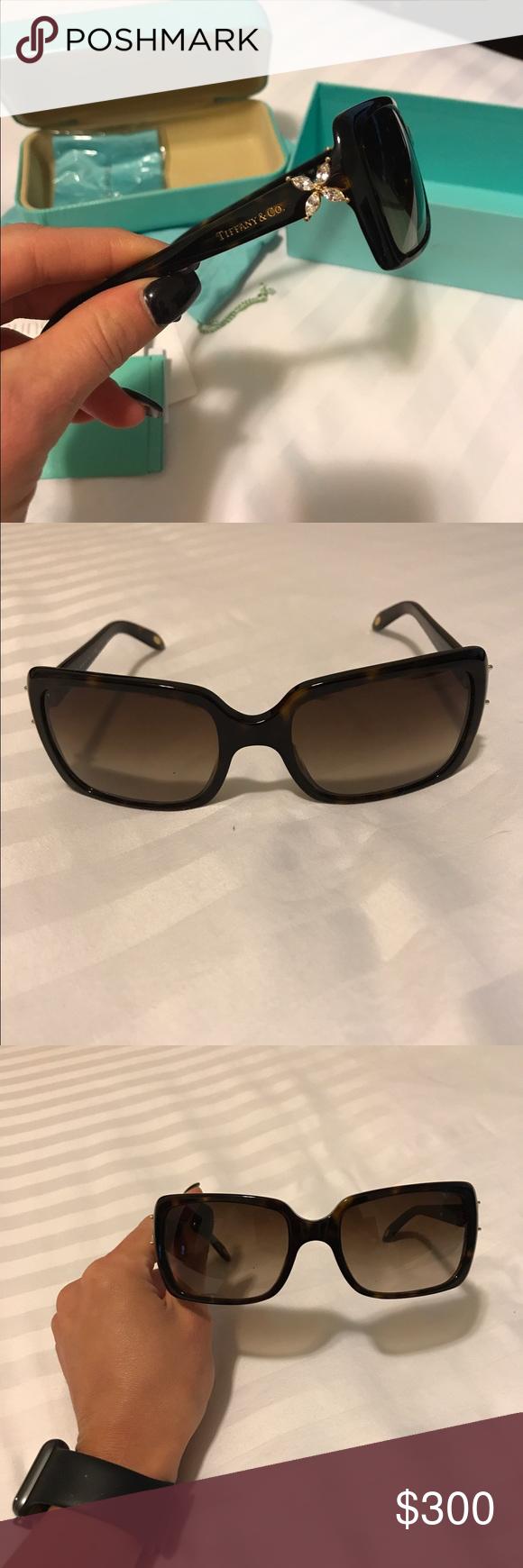 544cf39a72b9 Tiffany Sunglasses with Swarovski Crystals Brand New