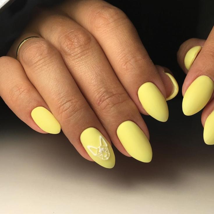 33 White With Yellow Nail Design Yellow Nails Design Yellow Nails Nail Designs
