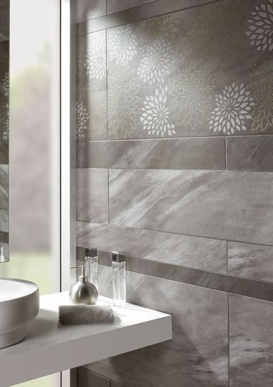 Great Gray Tile For A Bathroom From Defunct Company Hispano Azul