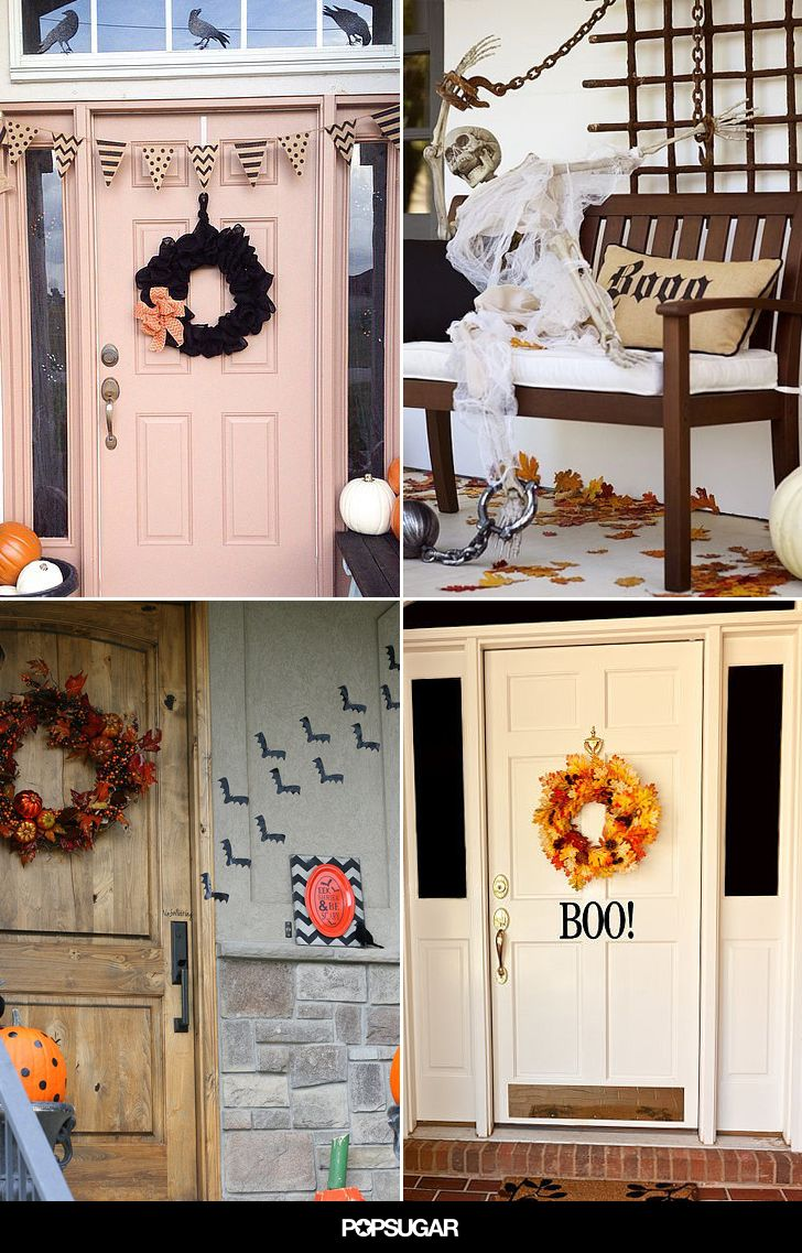 Get Inspired by These Creative Outdoor Halloween Ideas Outdoor - Window Halloween Decorations