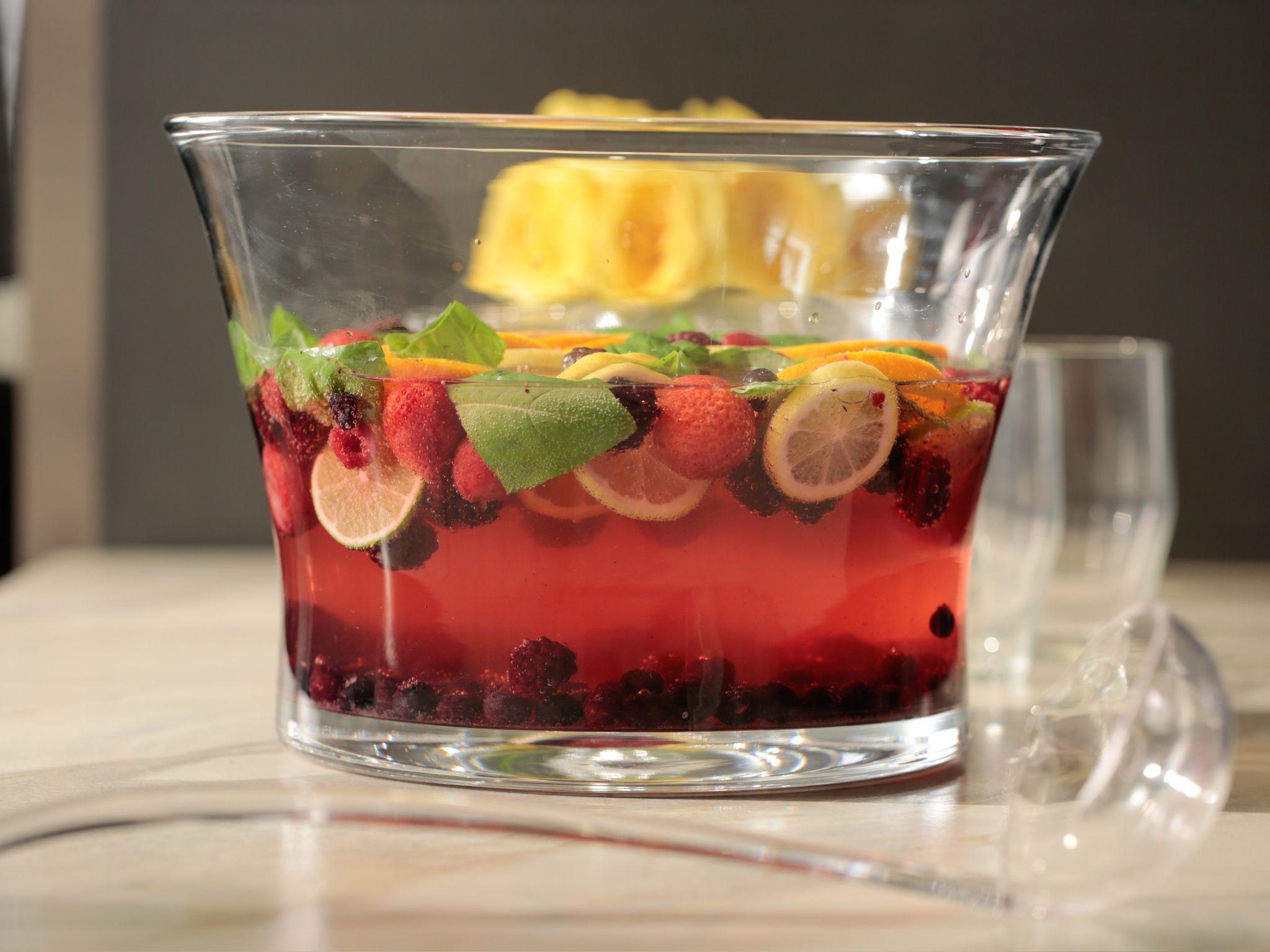 Frozen Fruit Sparkling Water Recipe Frozen Fruit Food Network Recipes Sparkling Water Recipes
