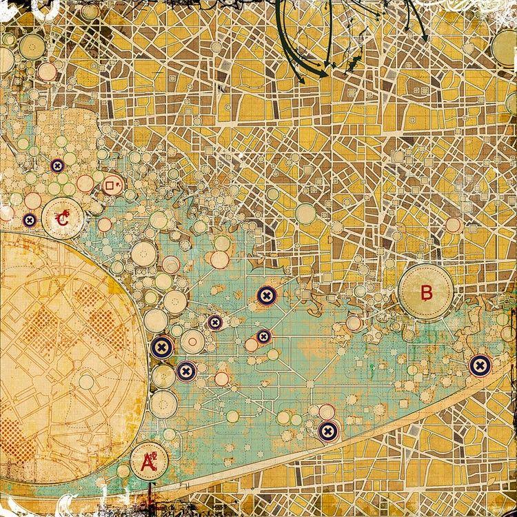Urban Growth Strategy Via Etsy By Lekan Jeyifous Brooklyn NY - Urban grown us map
