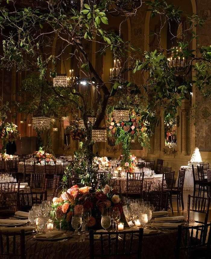 Romantic Garden Wedding Ideas in Bloom Wedding reception
