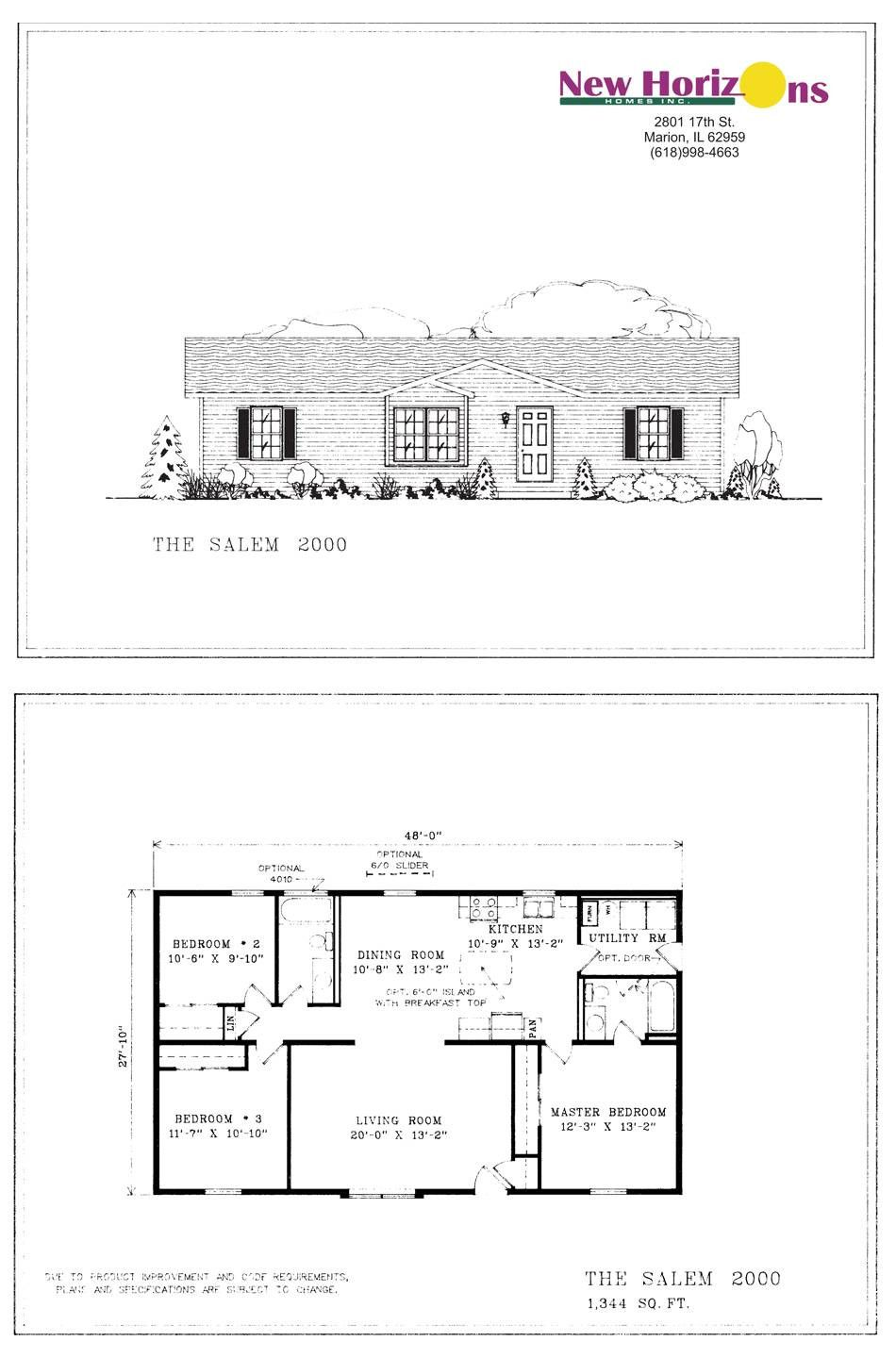 Fresh House Floor Plans One Level 2000 Sq Ft Beautiful 2000 Square Foot House Plans E Story 1 In 2020 House Plans One Story Basement House Plans Square House Plans