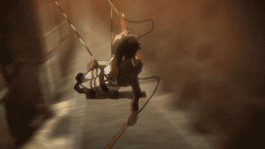 Just Mikasa skills (Anime: Shingeki no kyojin)