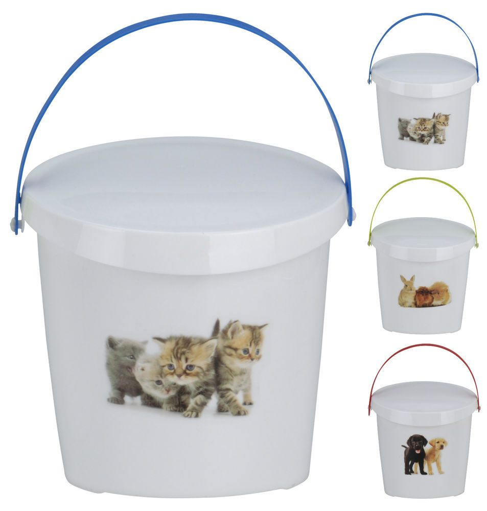 Pet Food Storage Container Dog or Cat Food Rabbit Puppies or
