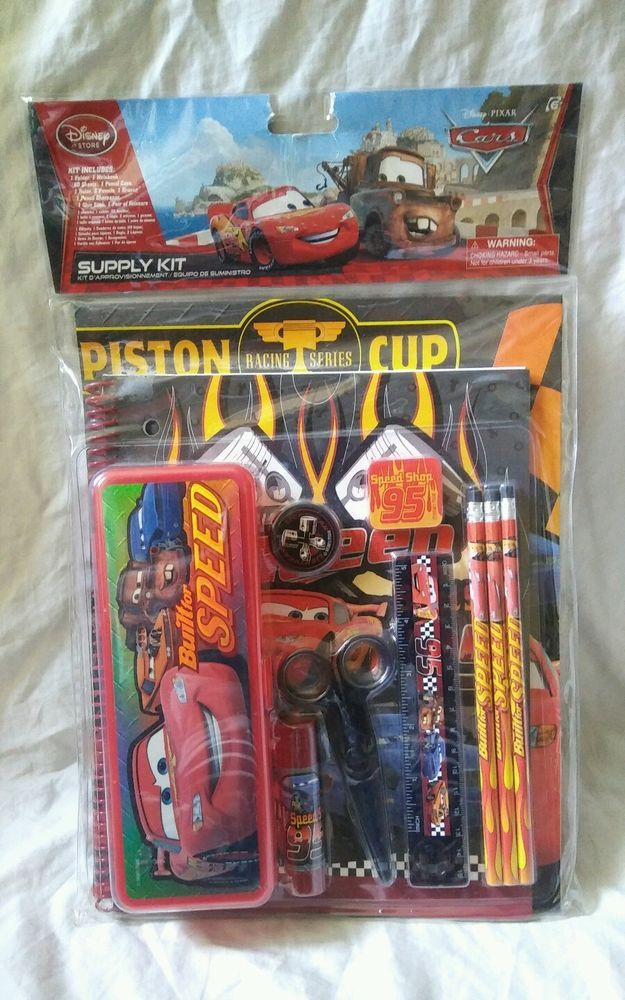 "8/"" Pencil Pouch//Case Disney Pixar Car BRAND NEW"