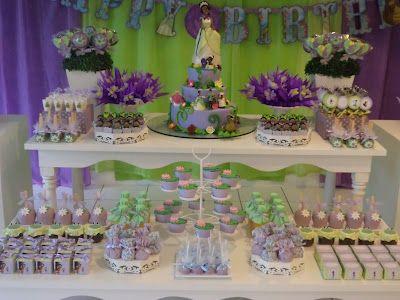Tema A Princesa E O Sapo With Images Princess Tiana Birthday