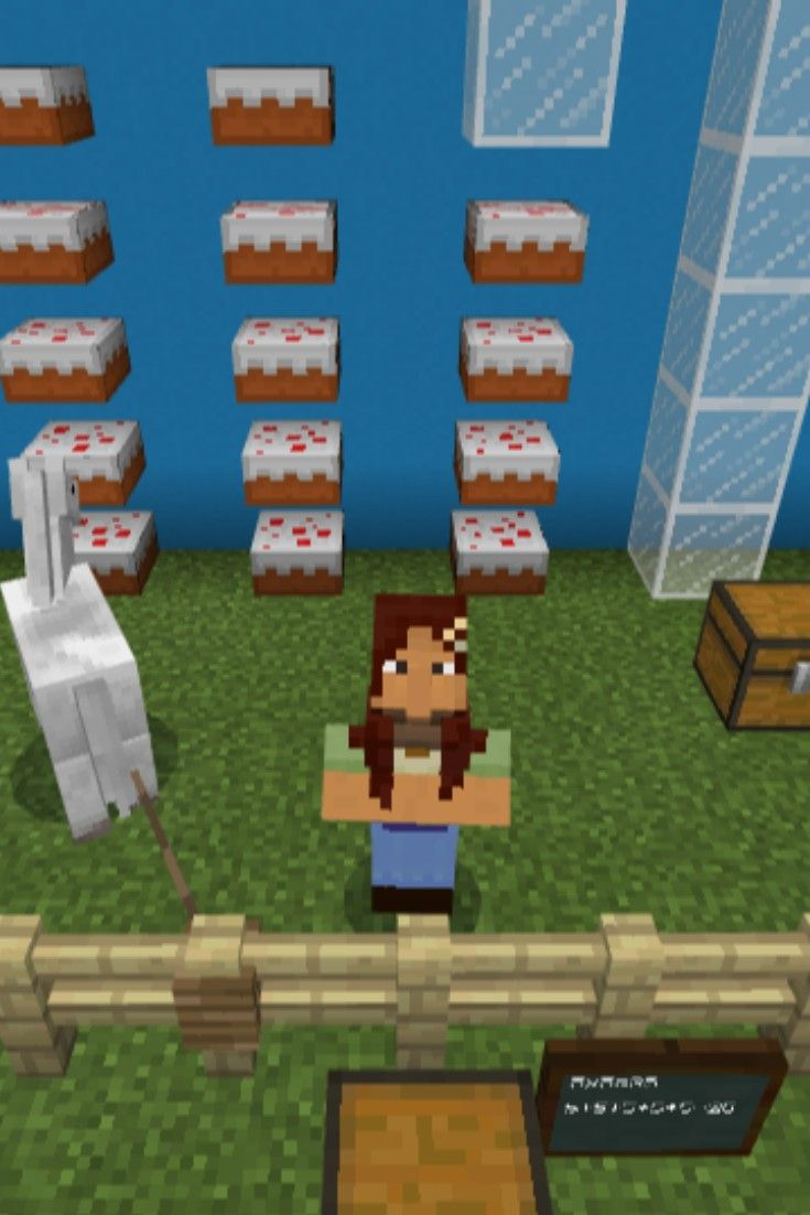 Build a twostep word problem minecraft education