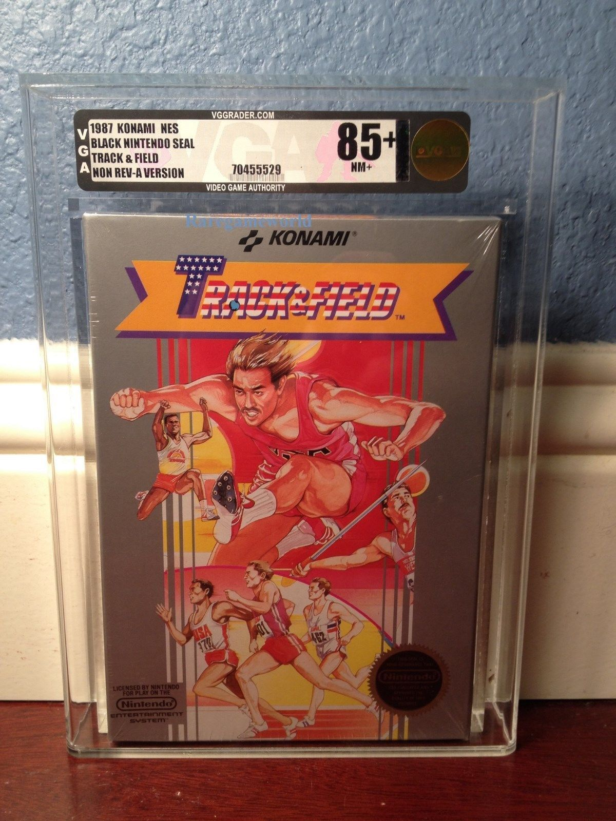 Track and Field Factory Sealed VGA 85 NES Sealed Nintendo