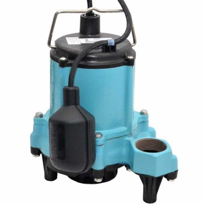 506620 Little Giant 6en Cia Rf 1 3 Hp Wide Angle Switch Sump Pump 10 Cord 115v With Images Effluent Pump Sump Pump Pumps