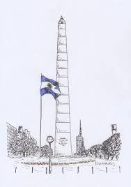 Resultado De Imagen Para Obelisco Dibujo Argentino Obeliscos Viajes Dibujos