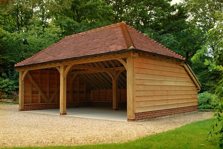 Oak Frame Garage Google Search Timber Frame