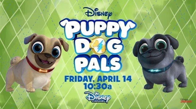 Disney Junior S New Animated Series Puppy Dog Pals Coming Soon