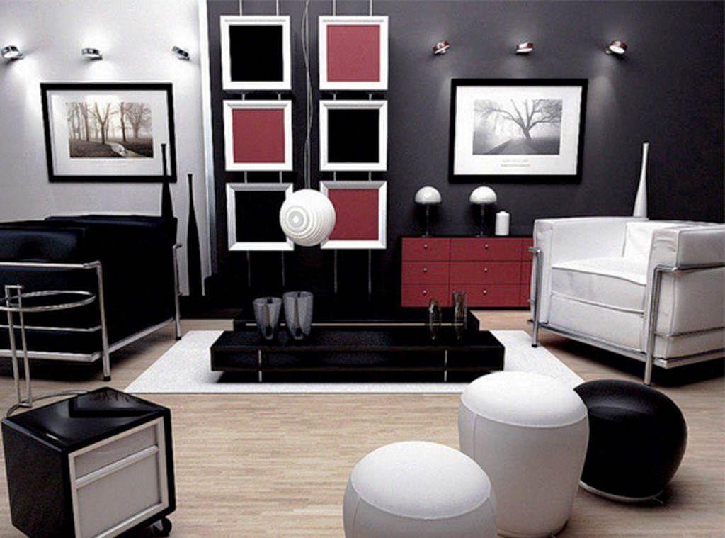 Kombinasi Cat Ruang Tamu Minimalis 2 Warna Modern