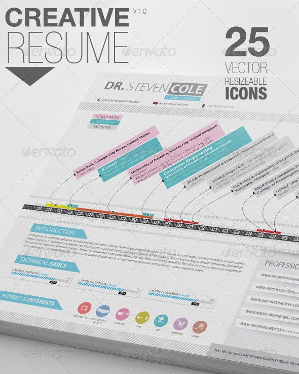 Creative Resume Cover Letter Branding Pinterest Cv resume - hobbies and interests on resume