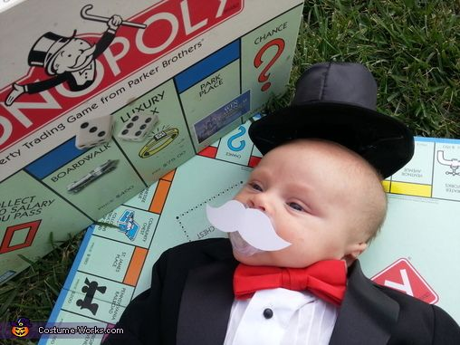Mr. Monopoly - 2012 Halloween Costume Contest