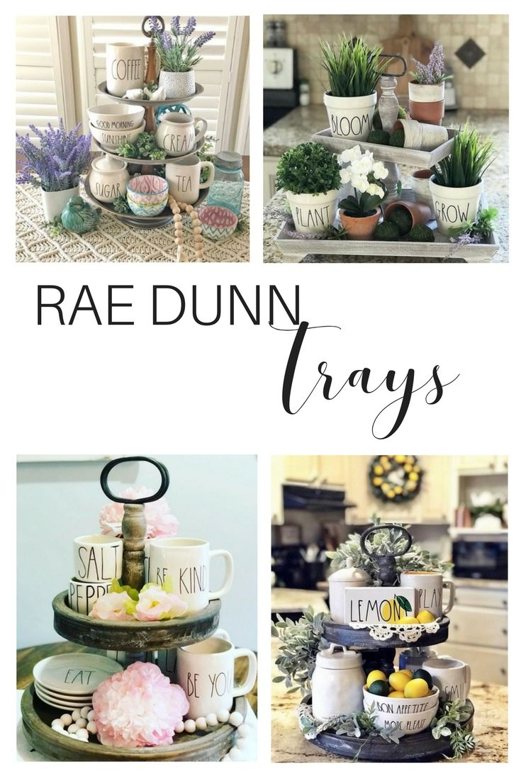 Kitchen Island Centerpiece Ideas Trays
