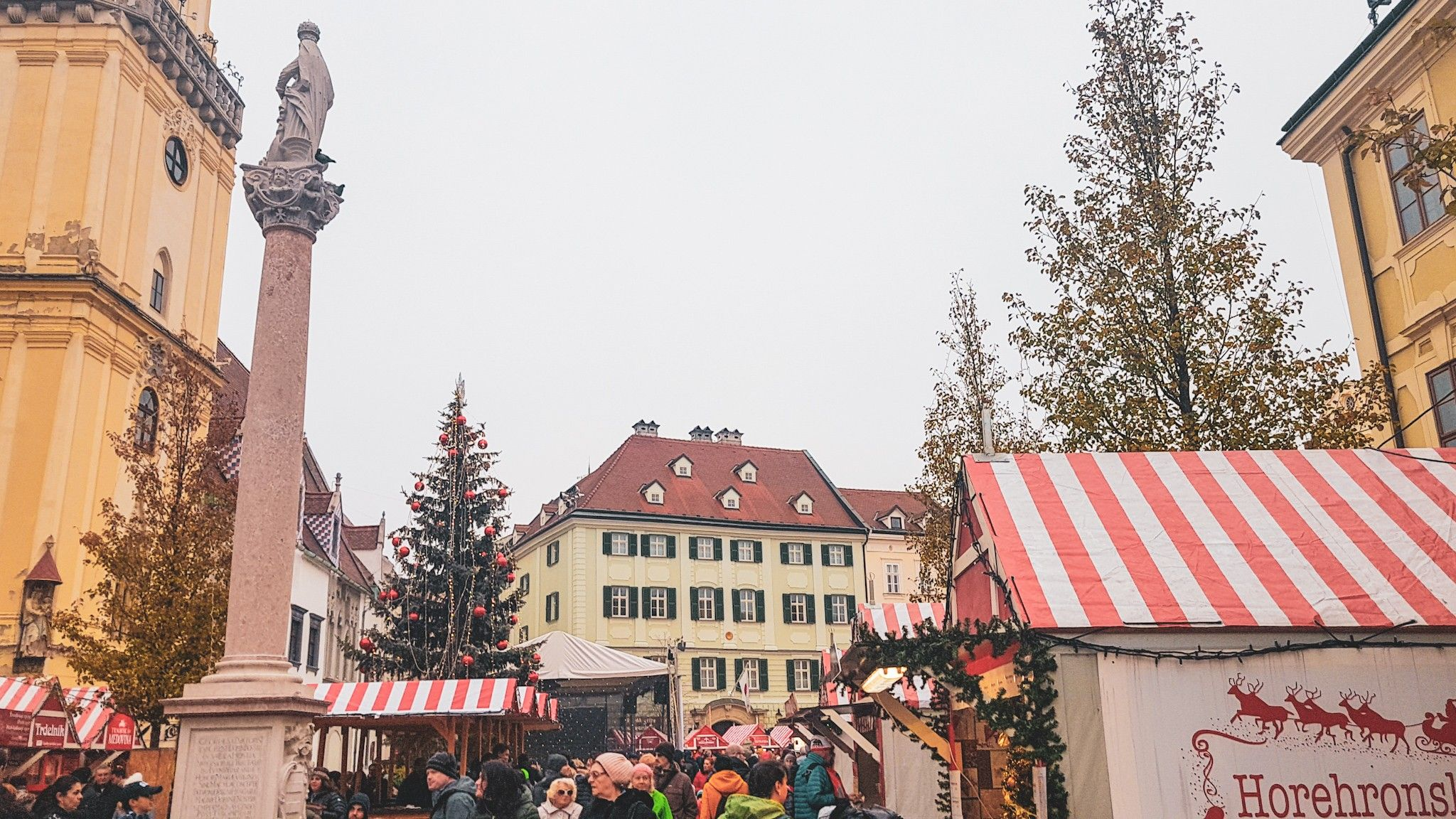 Bratislava Christmas Market Foods And Drinks To Try Bratislava Slovakia Travelcouples