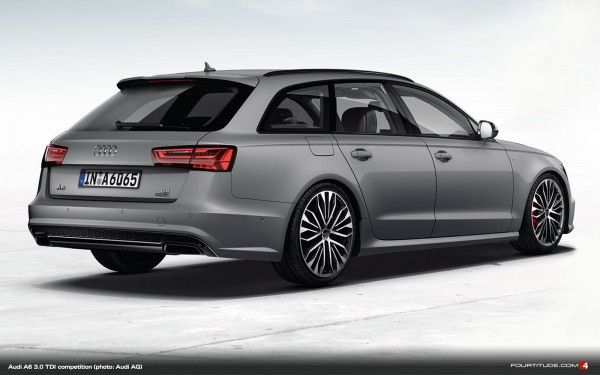 More Audi A6 Details Including New A6 3 0 Tdi Competition Model