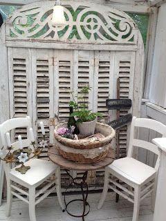 Honning og flora..shutters