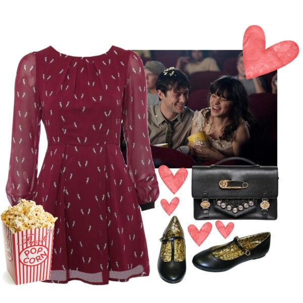 """""""Movie date"""" by beautifulnoice on Polyvore"""