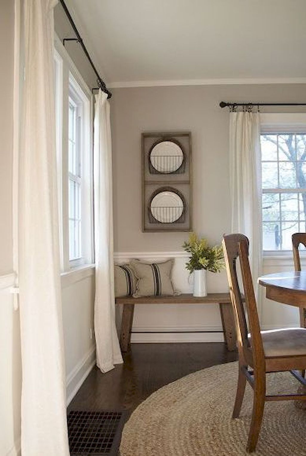 Great Simple Dining Room Decorating Ideas Dining Room Window