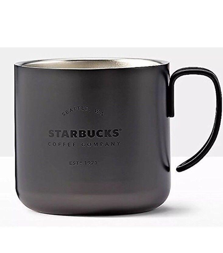 e13d8426b6d Starbucks Black Coffee Company Gatherings Handle Mug 12 oz Black ...