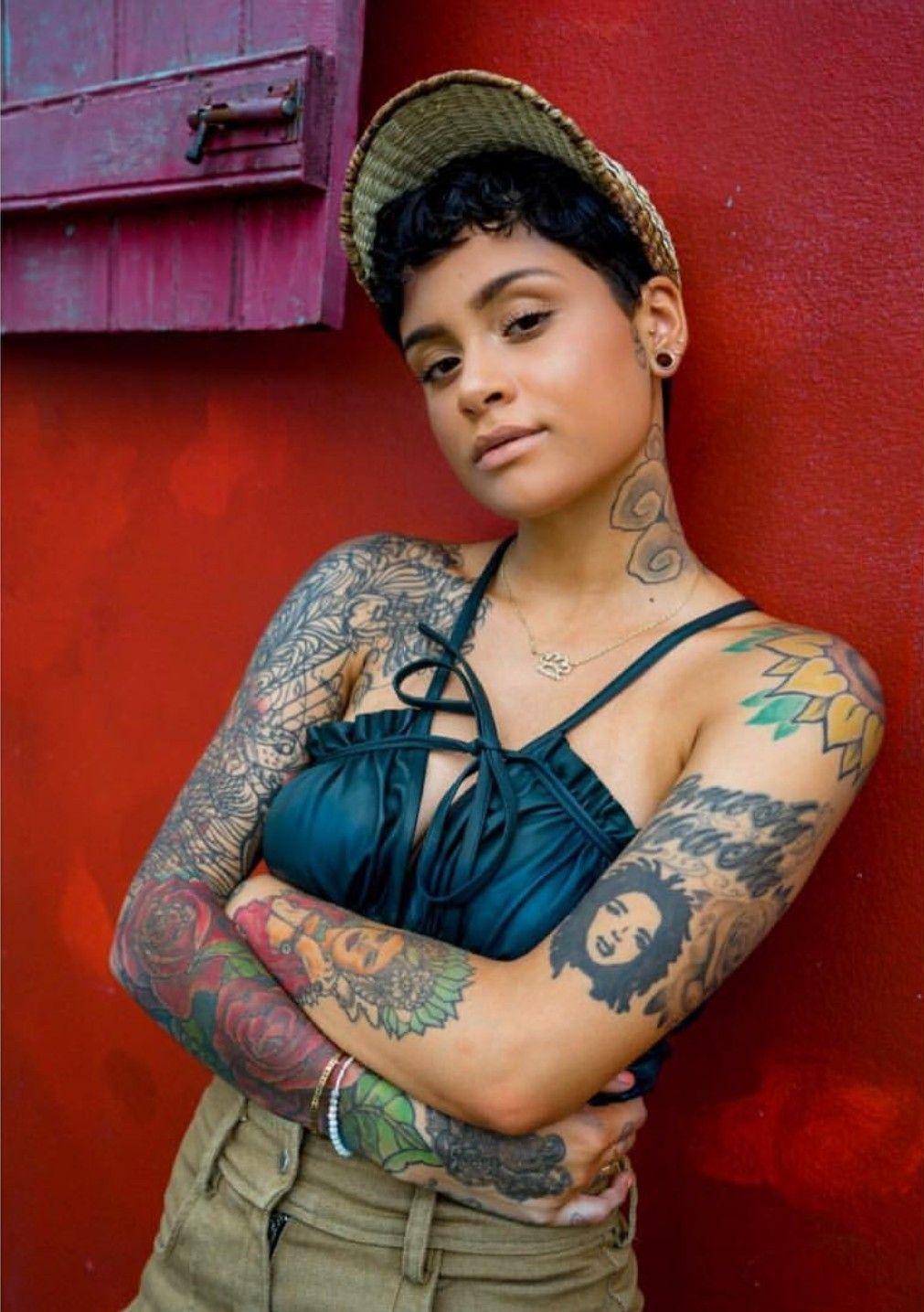 Tattoo Bikini: Kehlani Photoshoot By Savannah Baker In Jamaica