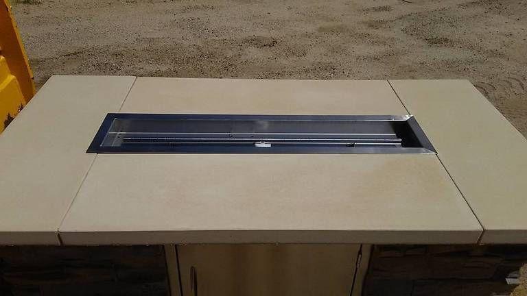 82 Concrete Tabletop Firepit