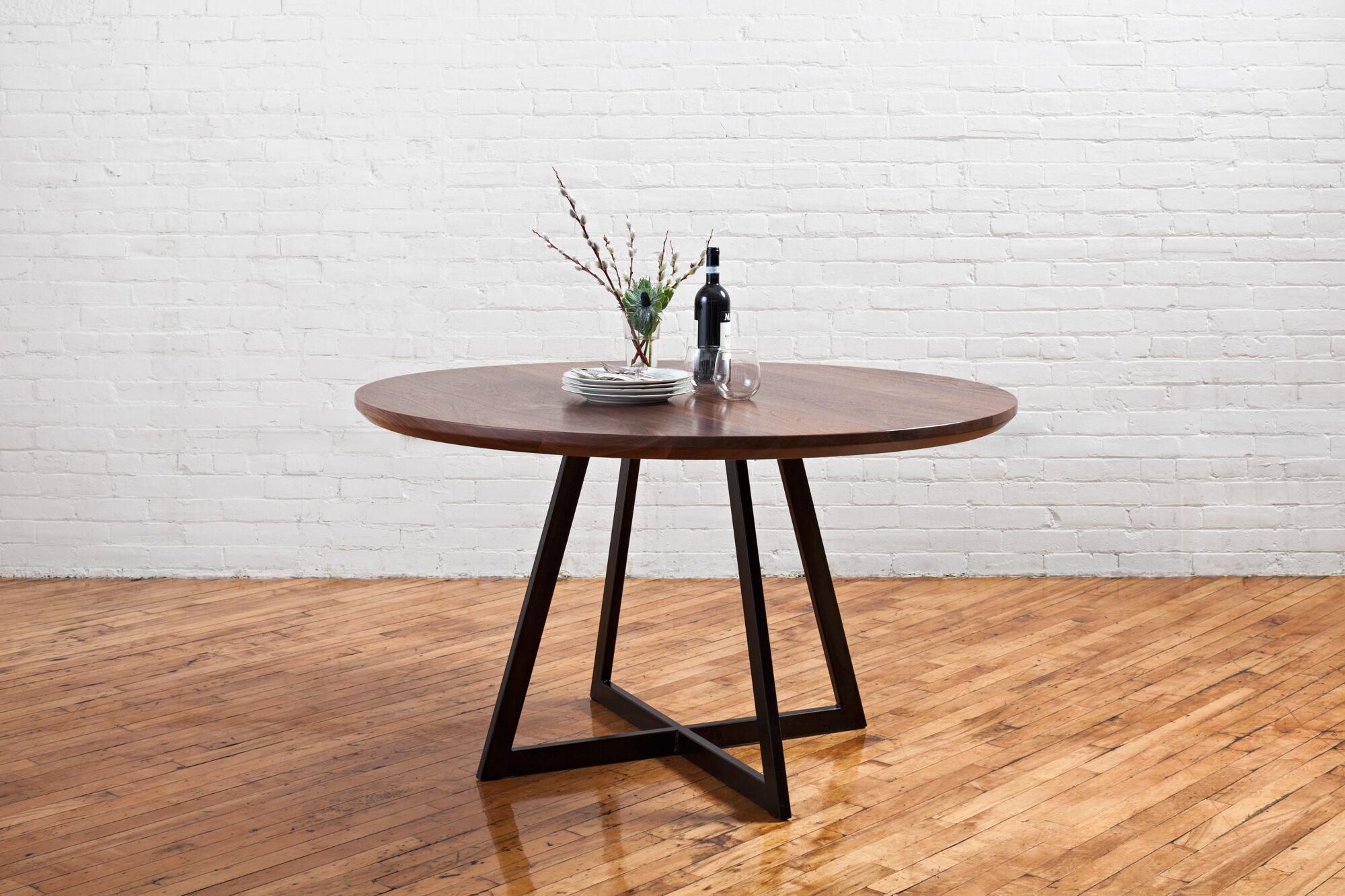 Walnut Bistro Dining Table Modern Kitchen Tables Dining Table Dining Table In Kitchen