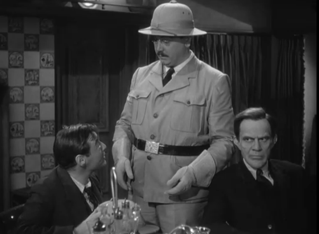 Peter Lorre, John Alexander and Raymond Massey in Arsenic and Old Lace (1944)