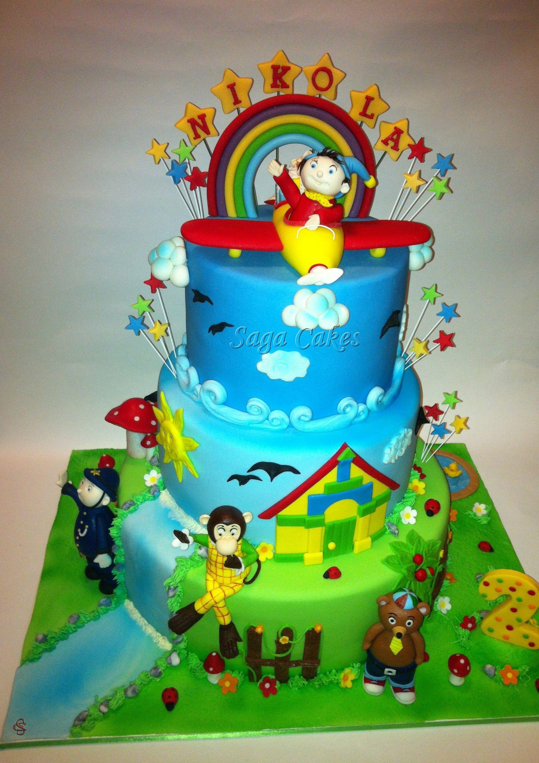 Noddy Https Www Facebook Com Saga Cakes Noddy Cake Amazing Cakes Cake Decorating