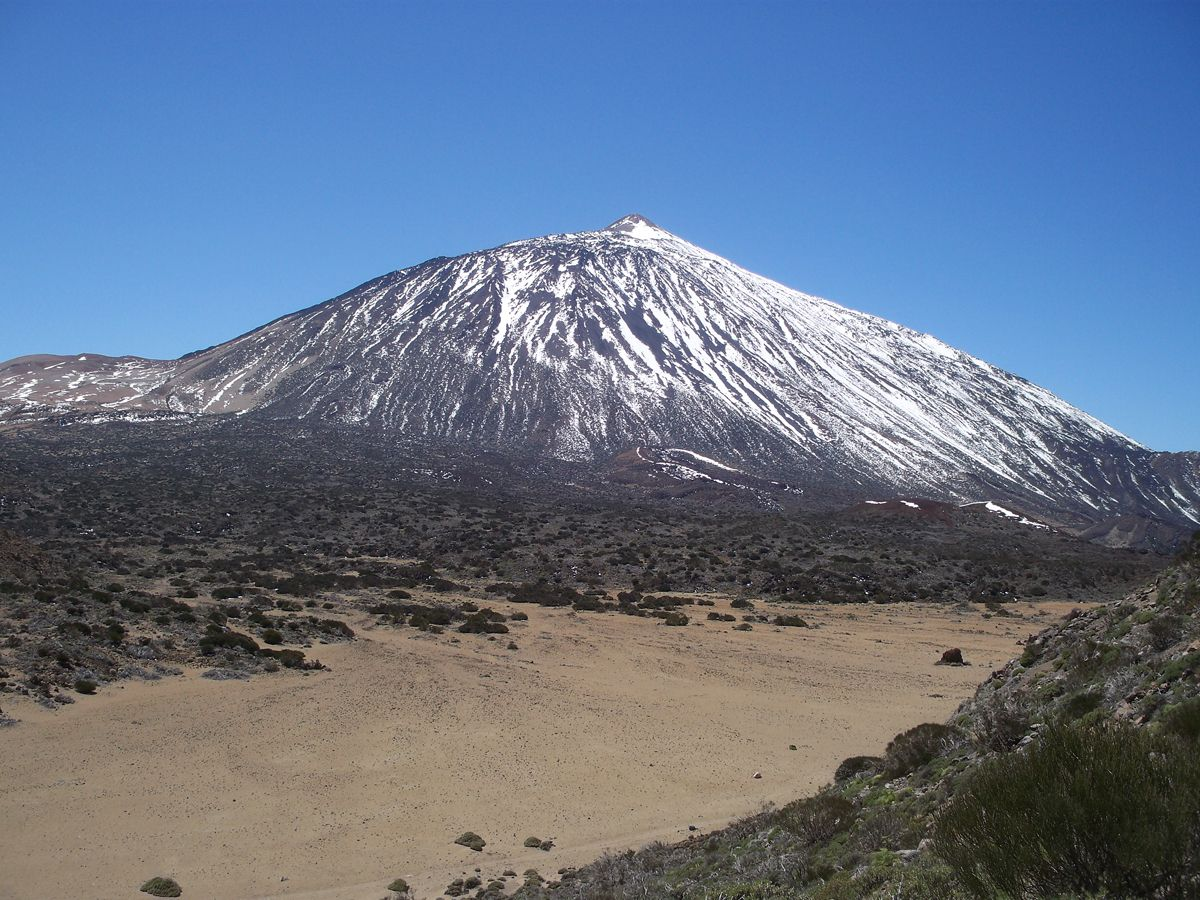 Teide Wikipedia The Free Encyclopedia Tenerife Canary Islands Canary Islands Spain