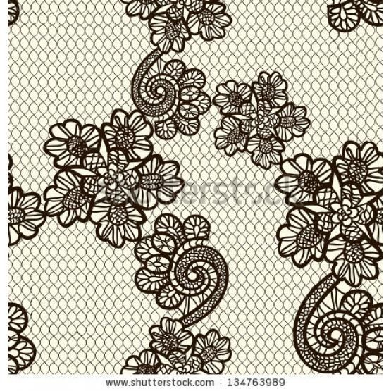 Seamless vintage lace background
