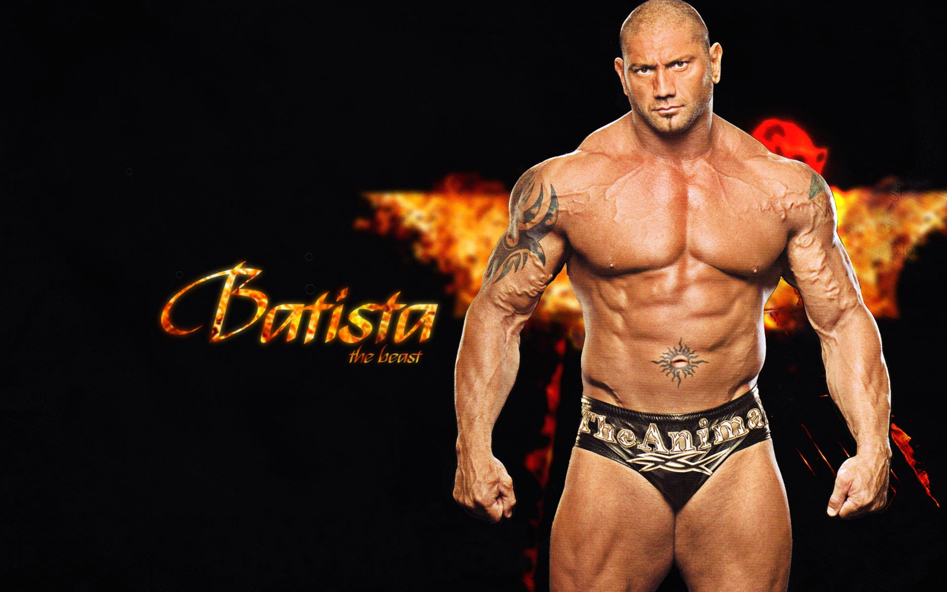 Dave Batista Then And Now