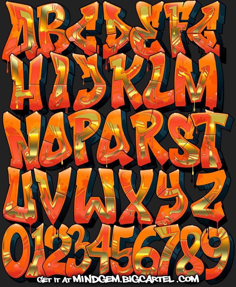 Image of graffiti font inferno graph life graffiti calligraphie lettrage - Lettre graffiti modele ...