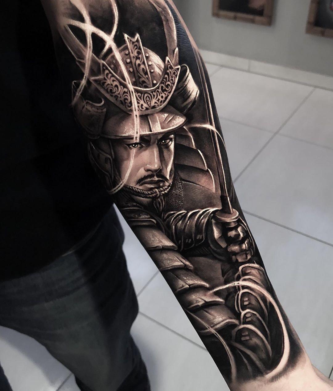 Tattoo Artist Samurai Standoff Samuraistandoff Tattoo2me Profile Warrior Tattoo Sleeve Samurai Tattoo Design Samurai Tattoo Sleeve