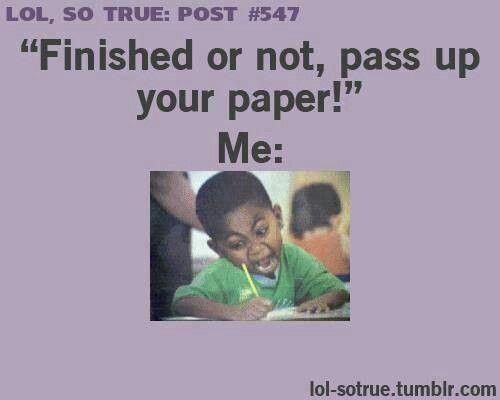Hahah just like me
